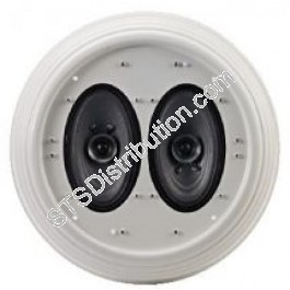 TOA - 2 x 6W A/B Wiring Flush-Mount Ceiling Speaker, BS5839 ... Wiring Toa on