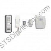 CS109-1 BELL - 01 button surface audio entry kit, Ali panel, + keypad