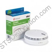 Ei146RC Aico Optical Smoke Alarm, 230V with Alkaline Battery Back-Up, Easi-Fit