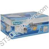 11893510-1 Rapid 28/10 Staples, Silver (Pack of 1000)
