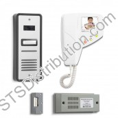 BS1 Bell System - 1 Way Bellissimo Surface Colour Video Entry Kit