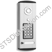BLP106-1 Bell System - 1 Button Bellini Surface Audio Entry Panel with Keypad