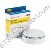 Ei141RC Aico Ionisation Smoke Alarm, 230V with Alkaline Battery Back-Up, Easi-Fit
