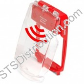 SG-FS-R	Smart+Guard Call Point Cover for Flush Call Points c/w Integral Sounder, Red