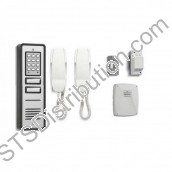 CS109-2 BELL - 02 button surface audio entry kit, Ali panel, + keypad