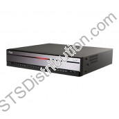 DR-4208P DirectIP 8CH NVR, HDMI/VGA, e-Sata, Built in 8 PoE Switch