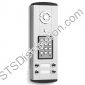 BLP106-4 Bell System - 4 Button Bellini Surface Audio Entry Panel with Keypad