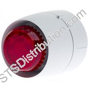 511-098L VTB Spatial Sounder Beacon, White Body, Red Lens, Deep Base VTB-32E-DB-WB/RL