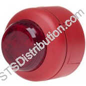 512-003 VXB LED Beacon, Red Body, Red Lens, Deep Base VXB-DB-RB/RL