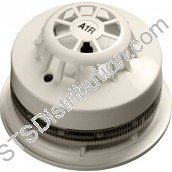 55000-198APO  AlarmSense A1R Heat Detector (RoR) and Sounder Beacon Base