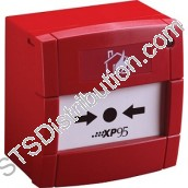 55100-905APO XP95 Manual Call Point, Red, Surface - KAC Style