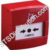 55100-908APO XP95 Manual Call Point with Isolator, Red, Surface - KAC Style