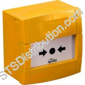 55200-942APO XP95 I.S. Manual Call Point, Yellow, Surface - Apollo Style