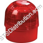 58000-005APO Discovery Open-Area Sounder Beacon, Red