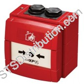 58100-951APO Discovery Waterproof Manual Call Point with Isolator, Red - KAC Style