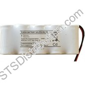 5DH4-0L3 Yuasa 5 Cell Pack Ni-Cd Battery, 6.0V, 4Ah with Leads