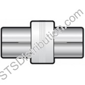 766.296UK Coax Socket to Socket Coupler