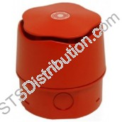 903CHA6A0 Banshee Excel Wall Mount Sounder, Capsule Horn, Deep Base, IP65, Red