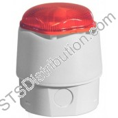 958CHX1501 Banshee Excel Lite CHX, White Sounder with Red Xenon Beacon, Deep Base, IP66