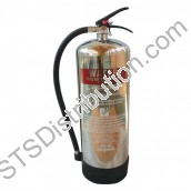 WSFEX9J	Fire Extinguisher 9Ltr Water, Stainless Steel