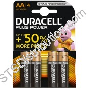 AADURPLUS AA Alkaline Battery (Pack of 4) - Duracell Plus