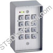 AC-DG15LD-C Standalone Keypad, 20 Users, Stainless Steel