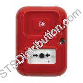 AP-2-R-A/CN Alert Point Lite (Red) with House / Flame Logo