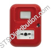 AP-3-R-A/CN Alert Point (Red) with House / Flame Logo & Beacon
