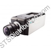DC-B1303 DirectIP Indoor 3MP Box Camera, 30IPS, Audio, MicroSD, POE (Lens Sold Separately)
