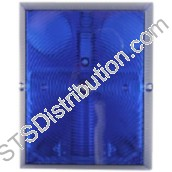 BCMB/BL/DUMMY CQR Multibox Dummy Backplate, Blue
