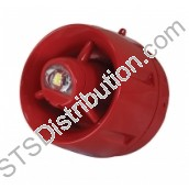 BF433A/CX/SR	C-Tec W-2.4-8.2 Wall Sounder VAD, Red, Shallow Base (Apollo Protocol)