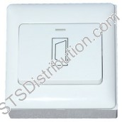 BP-DOOR-S CDVI Standard Wide Exit Button, Plastic, Surface