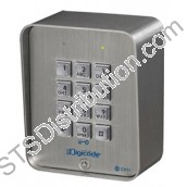 CBB CDVI Vandal Resistant Stainless Steel Keypad, 100 Users, 3 Relays, Surface