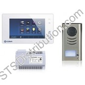 CDV4791-W 2Easy 1-Way Video Door Entry Kit, White Touchscreen Monitor