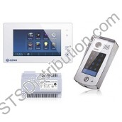CDV4796KP-W 2Easy 1-Way Video Door Entry Kit with Keypad, White Touchscreen Monitor