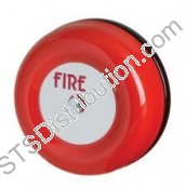 "CFB6D24V Fulleon 24V DC 6"" CF Fire Alarm Bell, Red"