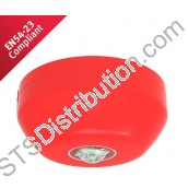 CHQ-CB(RED)/WL-15 Hochiki ESP Ceiling VAD, Red Body, White LEDs (15m) - requires YBO-R/3(RED) or YBO-R/SCI(RED)