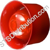 CHQ-WSB Hochiki ESP Wall Sounder Beacon, Red - requires YBO-R/3(RED) or YBO-R/SCI(RED)