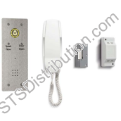 DDA1/VR Bell System - 1 Way Door Entry DDA Kit With Flush Mount Panel