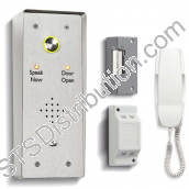 DDA1/VRS Bell One Way DDA Door Entry Kit With Surface Mount Panel