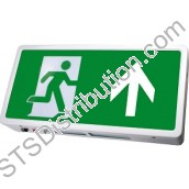 EBMLED 3Hr Maintained / Non-Maintained 8W Emergency Exit Box LED c/w Arrow Up Legend
