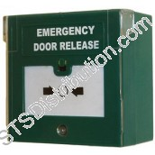 EDR-2 Emergency Door Release, Double Pole c/w Cover
