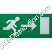 ELEB-R Exit Legend Arrow Right