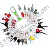 T10019 Fire Alarm & Emergency Lighting Engineer's Keyring Set