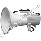 ER-2230W TOA - Shoulder Megaphone, 30W, Grey, with Whistle, Range 800m/1000m