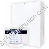 EURO-162MP Castle 10-162 Zone Panel c/w EUR-064 LCD Prox + 2 Zones RKP, Digimodem & STU Footprint (Grade 3)