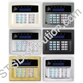 EURO-LCDPZ/SCHROME Pyronix LCD Prox Keypad, Satin Chrome, Surface Mount