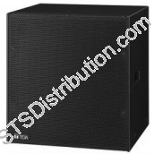 "FB-150B TOA - Subwoofer, 200W (8Ω), 15"" Floor Mount, Black - for HX-7"