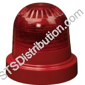 "FC-315-022 ""FireCell Wireless Red Visual Indicator includes Red Radio Base & Batteries"""