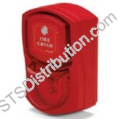 FC3/A/R/R/S Fire-Cryer Plus, Red with Red Beacon
